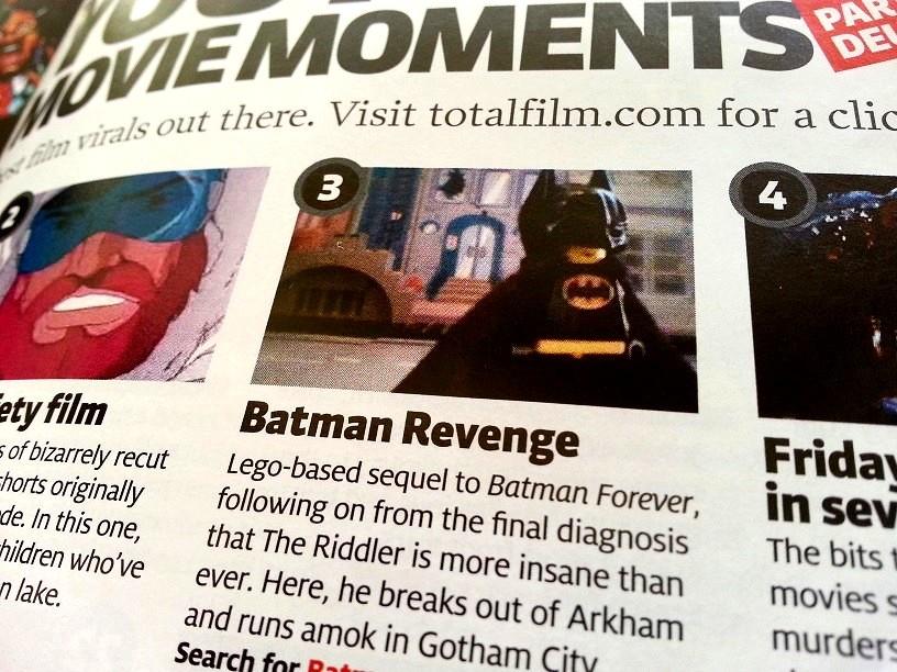 Total Film Batman: Revenge Feature