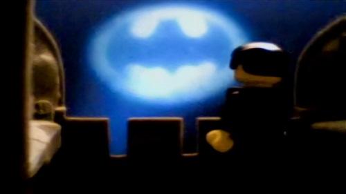 Batsignal from Wayne Manor