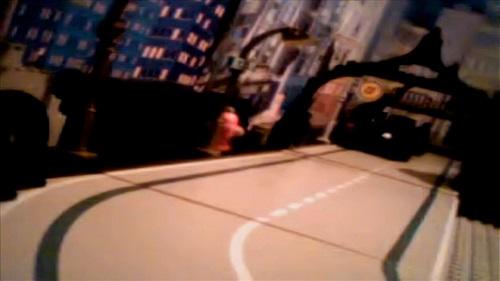 Batmobile on a Gotham City Street