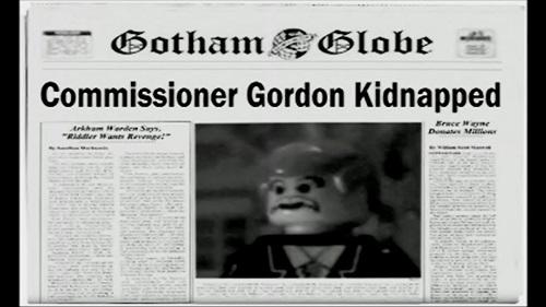 Gotham Globe Newspaper