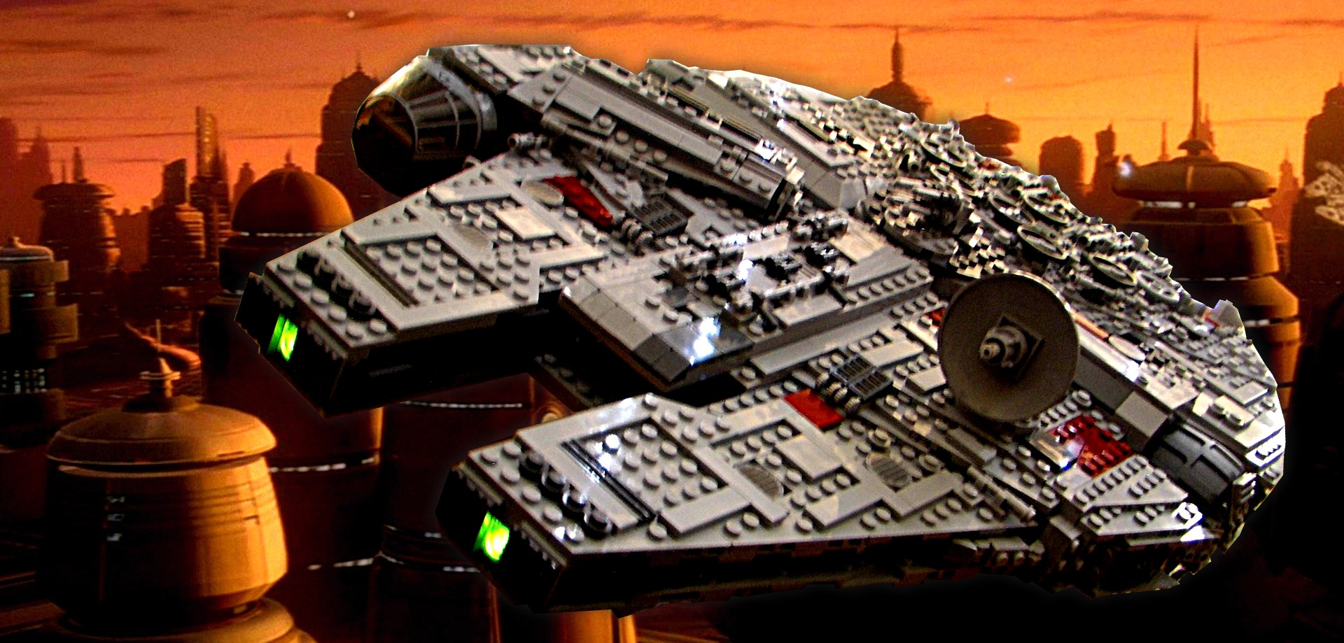Millennium Falcon at Cloud City